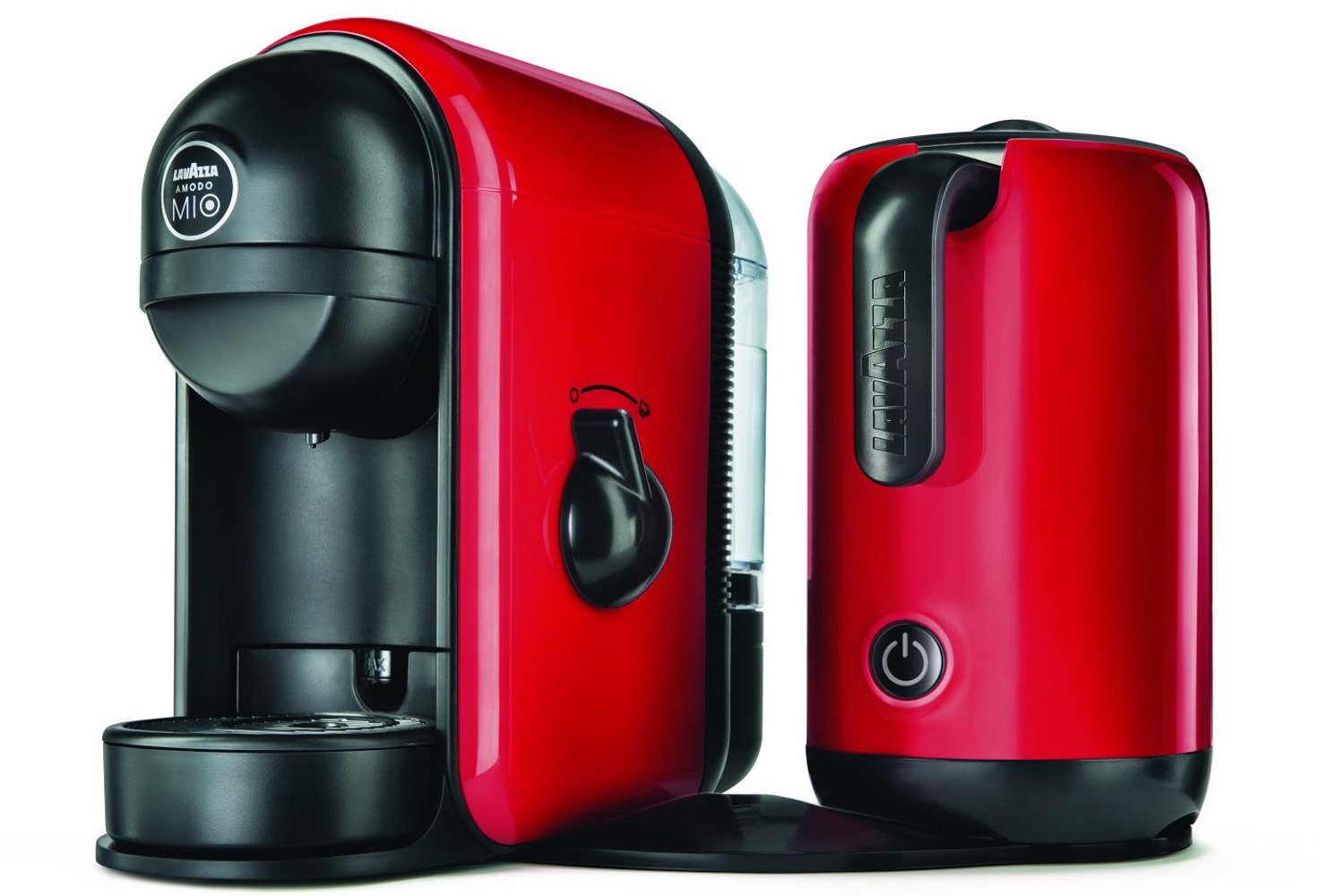 Caffe Latte Lavazza Minu Caffe Latte Coffee Machine Red